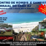 Encontro de Kombis e Campistas de Arraial do Cabo – RJ